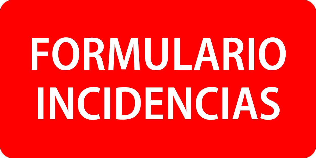 Formulario Incidencias Cobertura Excopesa Más 3
