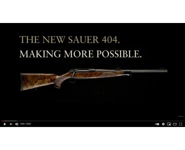 Nuevo rifle Sauer 404. ¡Mejorar es posible!
