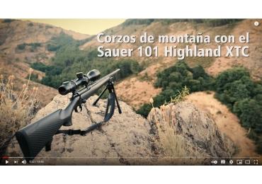 Corzos de montaña con Sauer 101 Highland XTC
