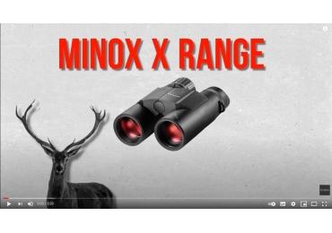 Análisis de los prismáticos con medidor Minox X-Range 10x42